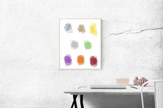 Wandfarben Ideen Raumansicht