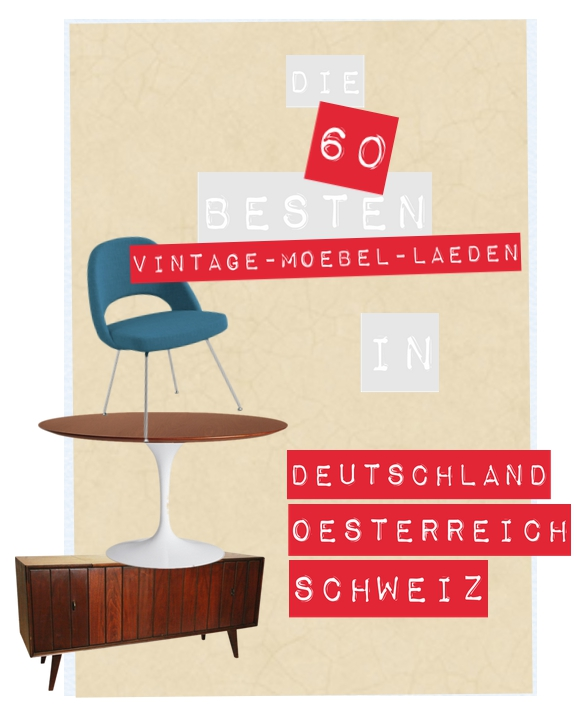 die 60 besten vintagem bel l den in d a ch diemoebelbloggerin. Black Bedroom Furniture Sets. Home Design Ideas
