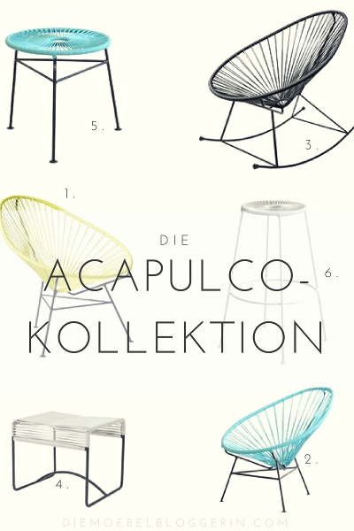 acapulco sessel mehr die acapulco m bel kollektion. Black Bedroom Furniture Sets. Home Design Ideas