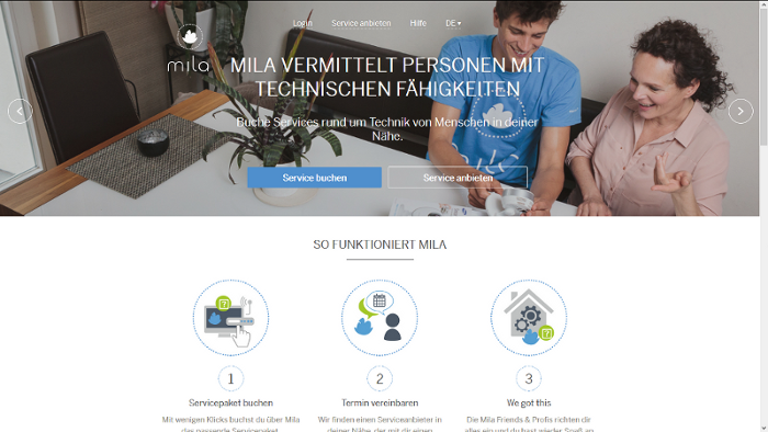 mila.com Technikhilfe
