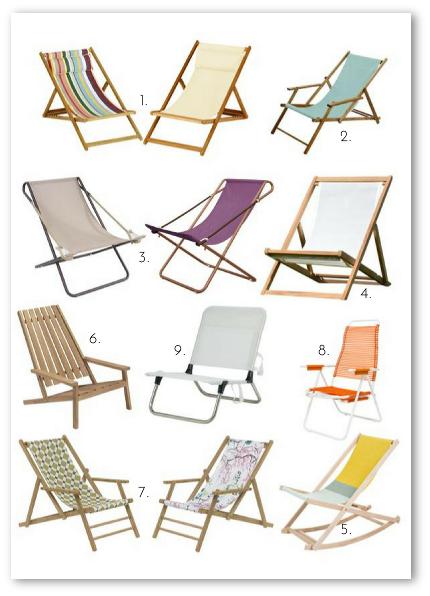 Liegestuhl Liegestühle klappbar Holz Stoff Strand