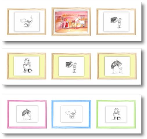 bezaubernde graphitzeichnungen und aquarellbilder f rs kinderzimmer. Black Bedroom Furniture Sets. Home Design Ideas