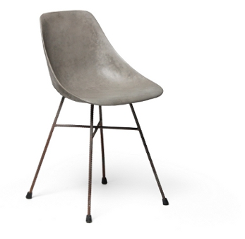 St hle und sessel aus beton hingucker jeder wohnung for Stuhl design entwicklung