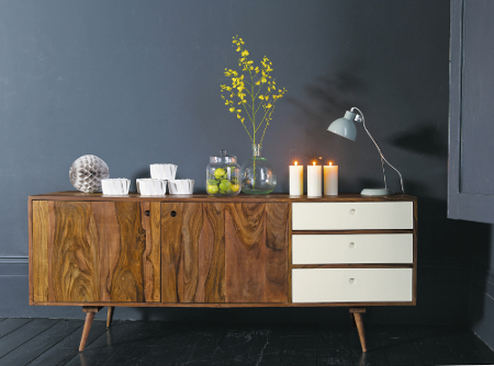 design sideboards im stil der 60er jahre. Black Bedroom Furniture Sets. Home Design Ideas