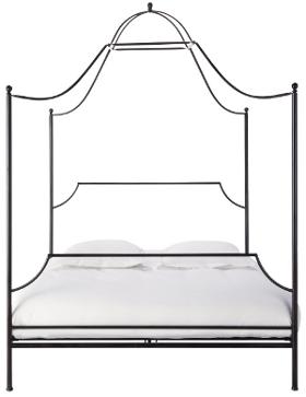 doppelbett metall betthimmel diemoebelbloggerin. Black Bedroom Furniture Sets. Home Design Ideas