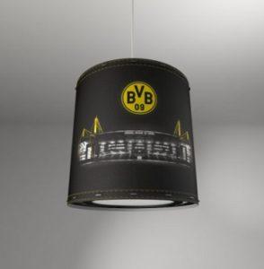 fanleuchte fanlampe fussball bvb borussia dortmund wechselschirm lampenschirm diemoebelbloggerin. Black Bedroom Furniture Sets. Home Design Ideas