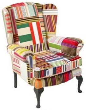 Englische Möbel Sesselklassiker Im Patchwork Outfit