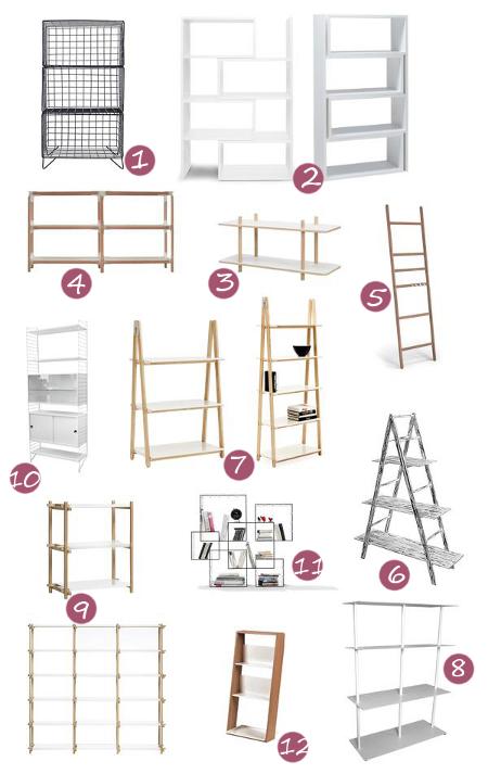 Regal Wohnzimmerregal Badezimmerregal erweiterbare Regale Raumtrenner Metall Holz