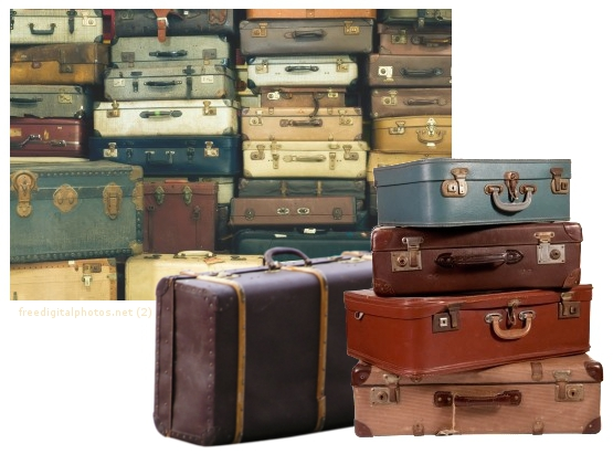 Koffer Deko beachtenswerte second deko