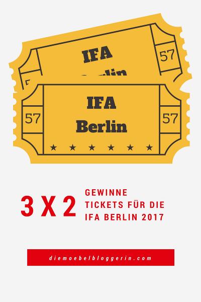 IFA Berlin 2017 Karten Tickets Gewinnspiel