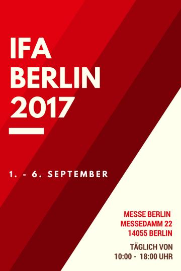 IFA Berlin 2017 Termin