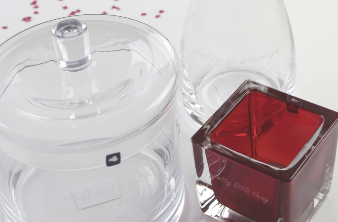 LEONARDO Glas Dose Teelichthalter Karaffe