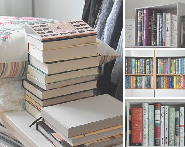 Bücher anders lagern