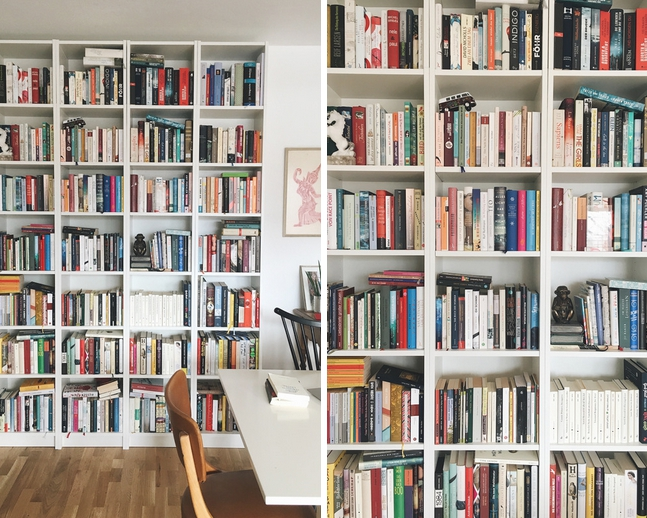 Bücherregal einrichten abstauben