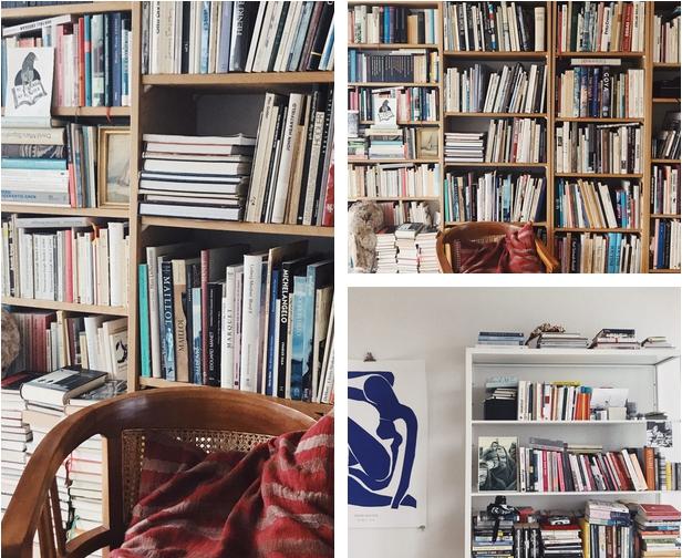 Bücherregal einrichten dekorieren