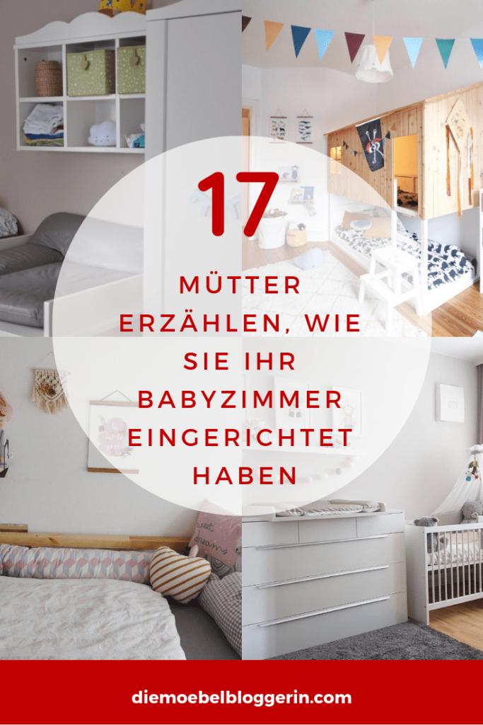 Babyzimmer einrichten Möbel Deko Checkliste